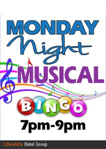 Monday Night Musical Bingo