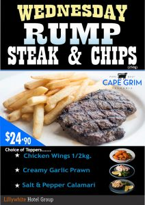 Rump Steak & Chips