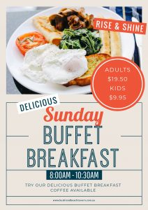 Buffet Breakfast Sunday