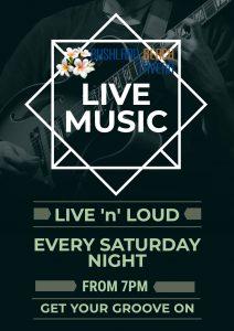 Live Music Saturday