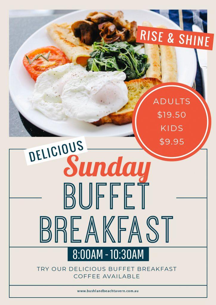 buffet breakfast sunday