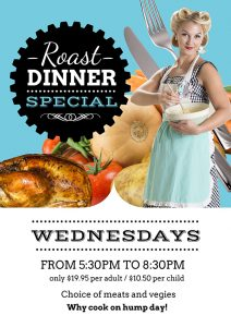 Wednesday Carvery Night